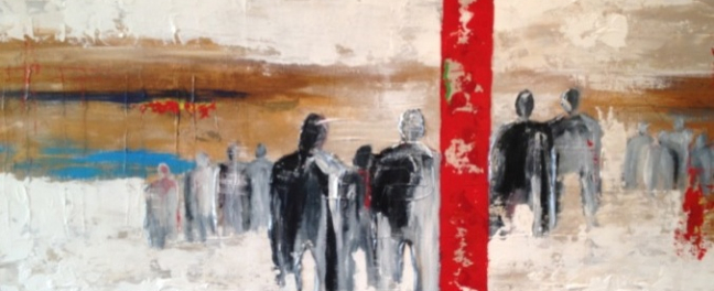Red Line 80 X 120